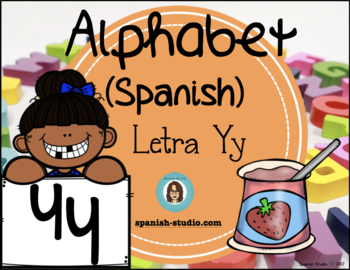 Spanish Alphabet. Letter Yy/ Letra Yy