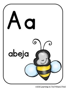 Spanish Alphabet Letters Set / Letras del alfabeto
