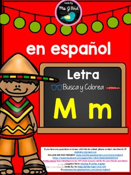 Spanish Alphabet M Freebie