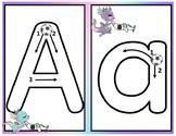 Spanish Alphabet Write and Wipe Mats