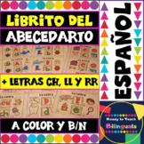Spanish Alphabet Mini-Book /Librito del Abecedario - Color and B&W versions