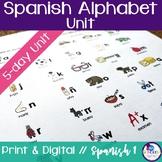Spanish Alphabet Unit