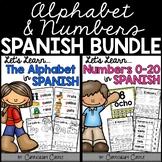 Spanish Alphabet & Numbers Bundle!