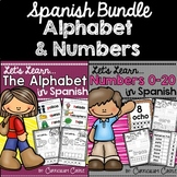 Spanish Alphabet & Numbers BUNDLE!
