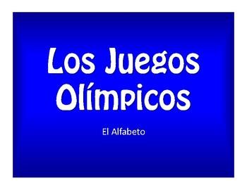 Spanish Alphabet Olympics