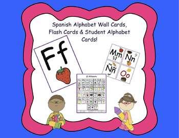 Spanish Alphabet Pack A-Z