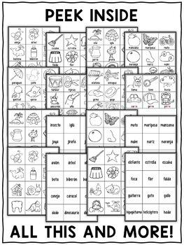 Spanish Alphabet Pocket Chart Center