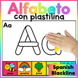 Spanish Alphabet Playdough Mats/ Spanish Alphabet Playdoh Mats