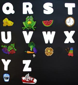 Spanish Alphabet Poster: Alfabeto español posters