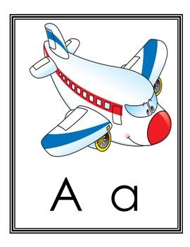 Spanish Alphabet Posters alfabeto