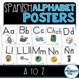 Spanish Alphabet Posters