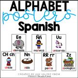 Spanish Alphabet Posters- Carteles del Alfabeto (Abecedario)