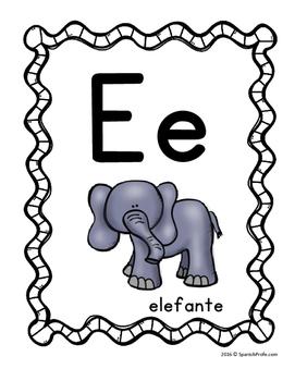 Spanish Alphabet Posters (Carteles del abecedario)