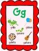 Dual Language Spanish Alphabet Posters:  Gomez and Gomez style.