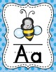 Spanish Alphabet Posters - Polka Dot