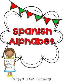 Spanish Alphabet Posters Set