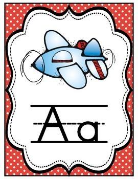 Spanish Alphabet Posters Set 2
