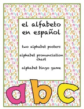 Spanish Alphabet Practice
