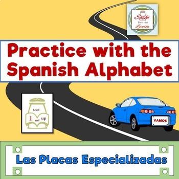 Spanish Alphabet Practice for Level 1: Las Placas Especializadas