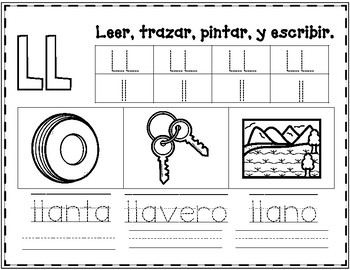 Spanish Alphabet Practice Worksheets 2 by Bilingual ...