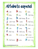 Spanish Alphabet Printable