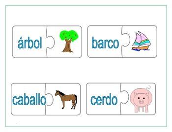 Spanish Alphabet Puzzle 1
