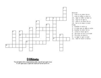 Spanish Alphabet Puzzle Pack