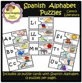 Spanish Alphabet Puzzles - Rompecabezas Alfabeto Español(School Designhcf)
