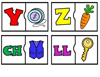 Spanish Alphabet Puzzles 3 games