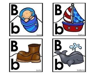 Spanish Alphabet Puzzles