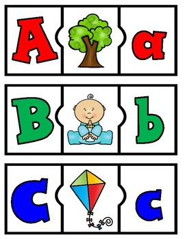 Spanish Alphabet Puzzles Beginning Sounds