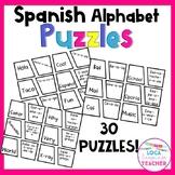 Spanish Alphabet Puzzles (El alfabeto)