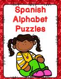 Spanish Alphabet Puzzles:  Initial Sound