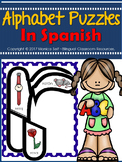 Spanish Alphabet Puzzles (lower case)