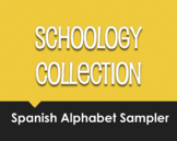 Spanish Alphabet Schoology Collection Sampler