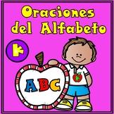 Spanish Alphabet Sentences:  Oraciones del alfabeto