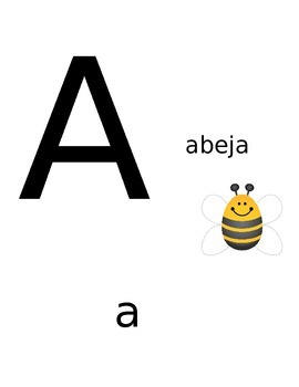Spanish Alphabet Signs