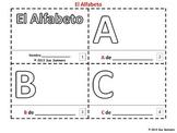 Spanish Alphabet Sketch and Color Booklet - El Alfabeto