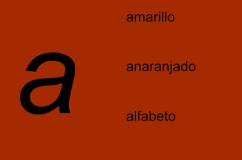 Spanish Alphabet SmartBoard File
