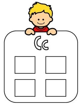 Spanish Alphabet Sorting Mats:  Mantelitos del alfabeto