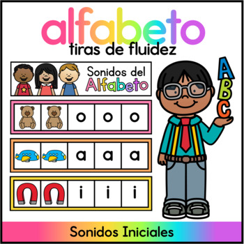Spanish Alphabet Sound Strips