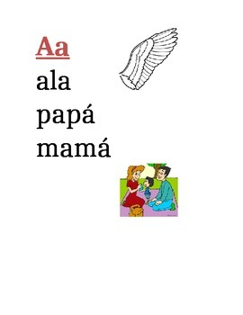 Spanish Alphabet/ Sounds for Word Wall