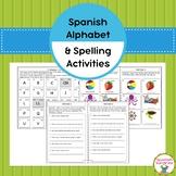 Spanish Alphabet & Spelling Activities (Abecedario)