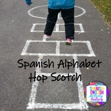 Spanish Alphabet Hop Scotch