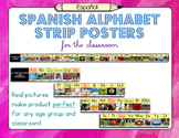 Spanish Alphabet Strip Posters
