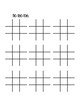 Spanish Alphabet Tic Tac Toe