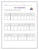 Alphabet Trace and Write - Spanish