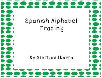 Spanish Alphabet Tracing