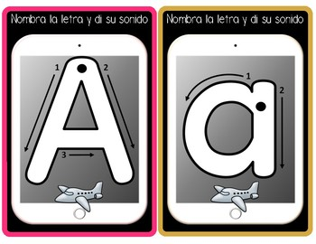 Spanish Alphabet Tracing Book For Guided Reading