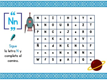 Spanish Alphabet Trail!! ABC // Español - Phonic sounds from A to Z!